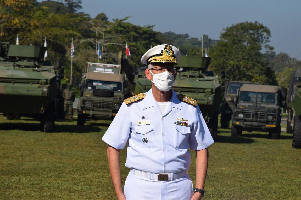 Militares da Divisão Anfíbia da Marinha preparam-se para avaliação da ONU