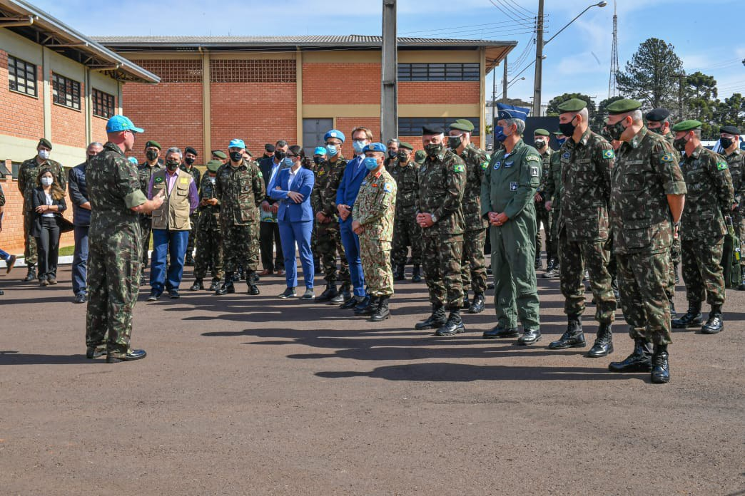 Ministro da Defesa acompanha inspeção da ONU a tropas brasileiras que poderão atuar em missões de paz