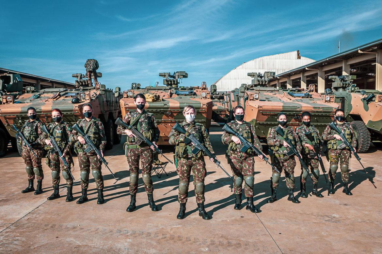 Batalhão de Infantaria recebe Estágio de Operações de Paz em Cascavel (PR)