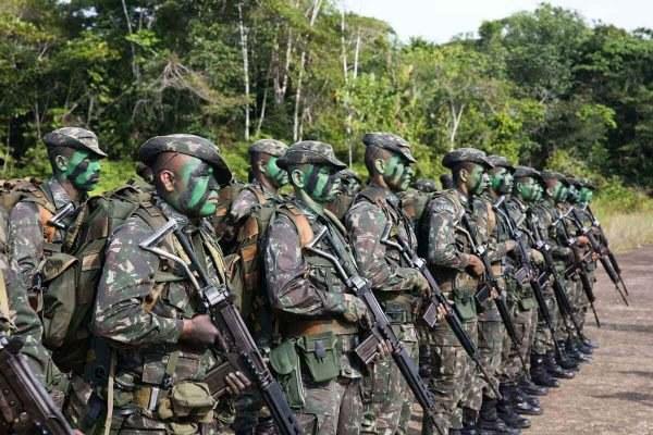 Presidente Jair Bolsonaro autoriza a ampliação da GLO ambiental no Amazonas