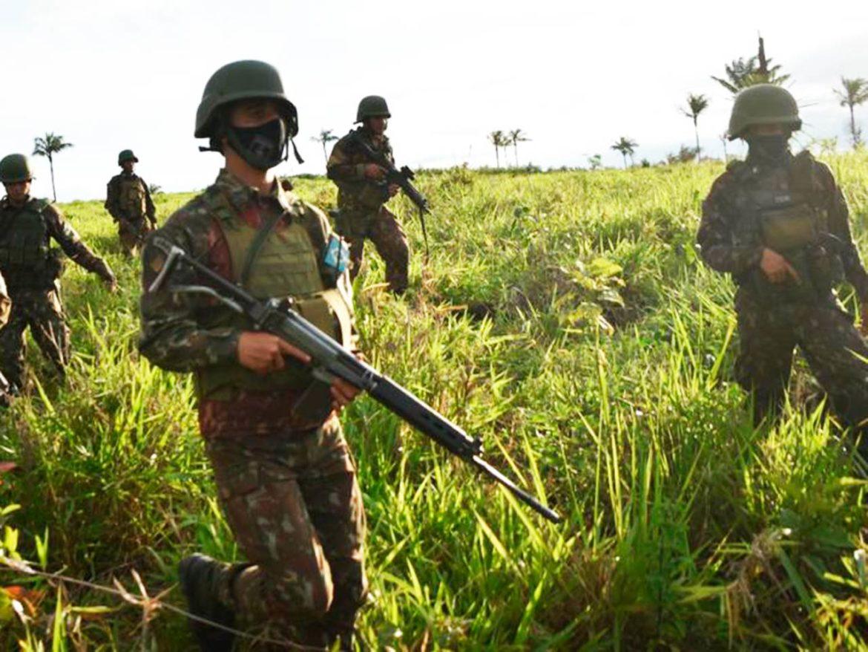 Exército apoia operação de combate ao garimpo ilegal em terra indígena de RR