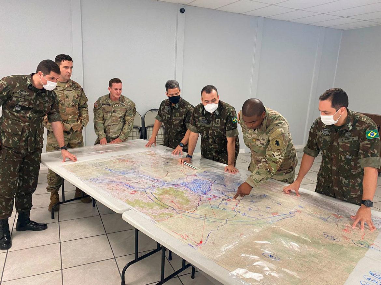 Exército Brasileiro participa de reunião de coordenação nos EUA