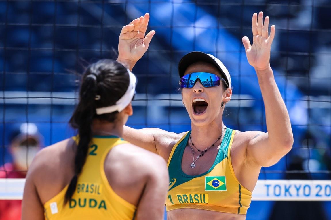 Com sete medalhas, Brasil avança no quadro geral das competições