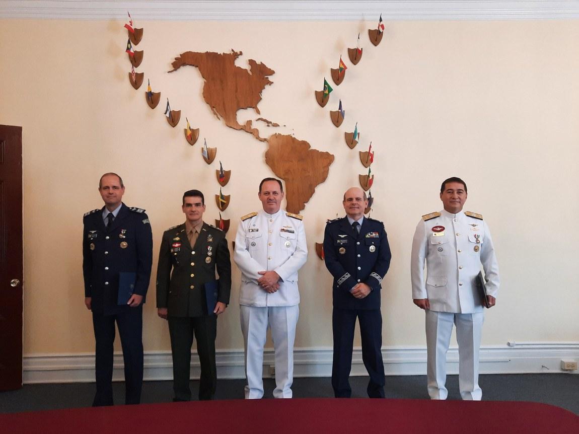 Junta Interamericana de Defesa tem novos delegados