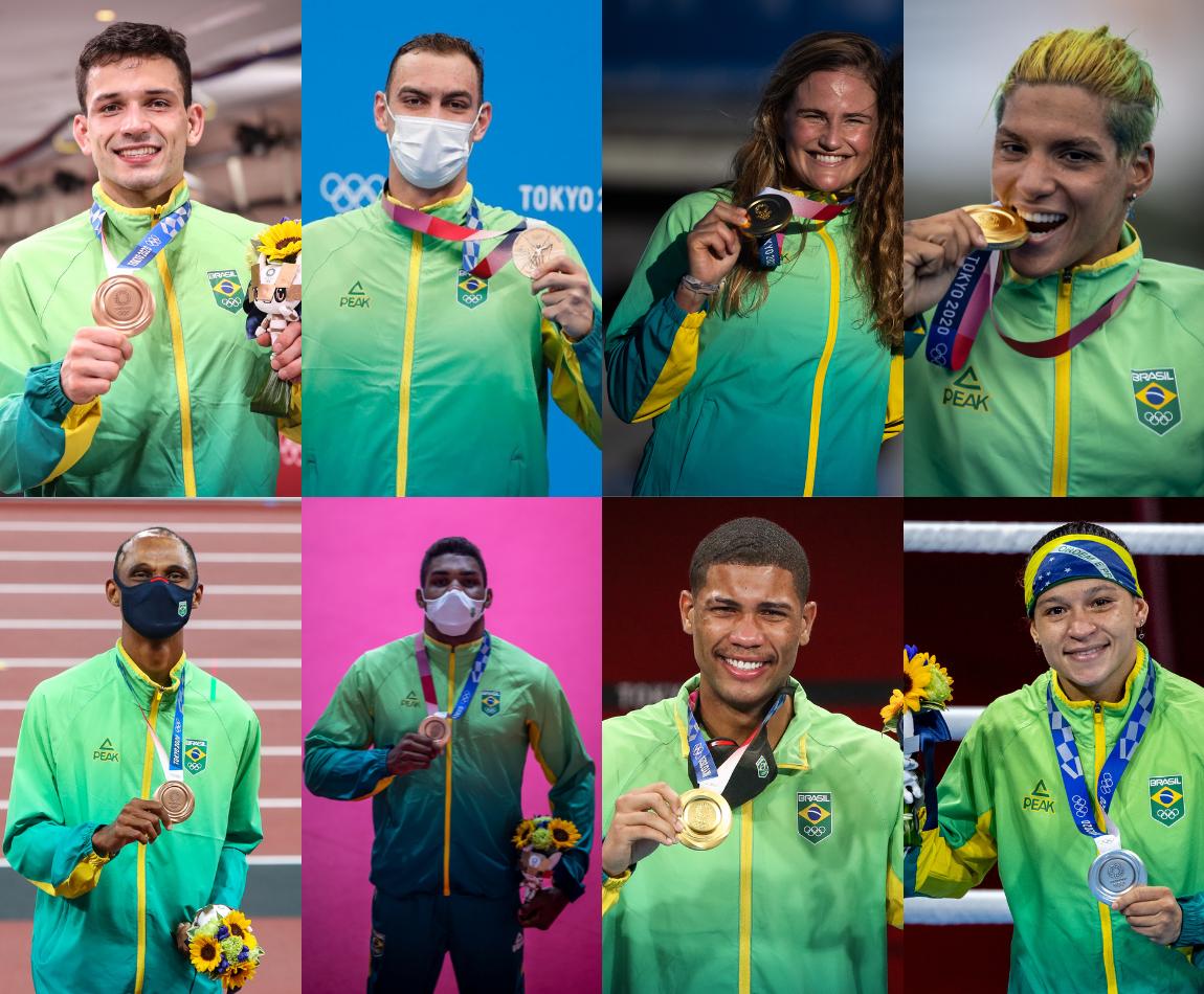 Militares atletas contribuem para recorde de medalhas do Brasil em Olimpíadas