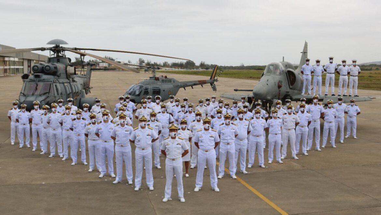 No ar, os homens do mar! ComForAerNav celebra os 105 anos da Aviação Naval