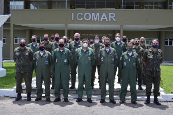SEFA realiza Reunião de Oficiais-Generais no Comando Aéreo Norte