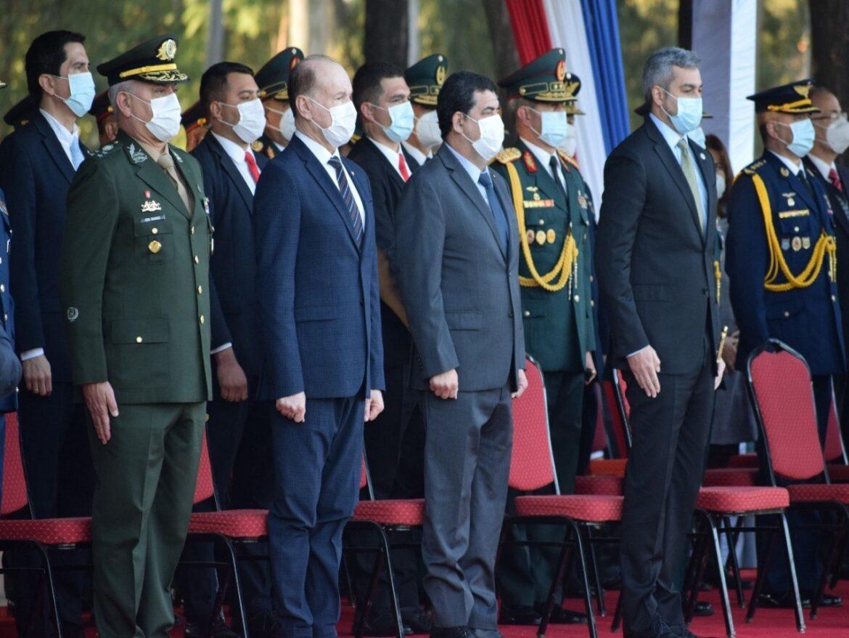 Visita de diplomacia militar do Comando Militar do Oeste ao Paraguai