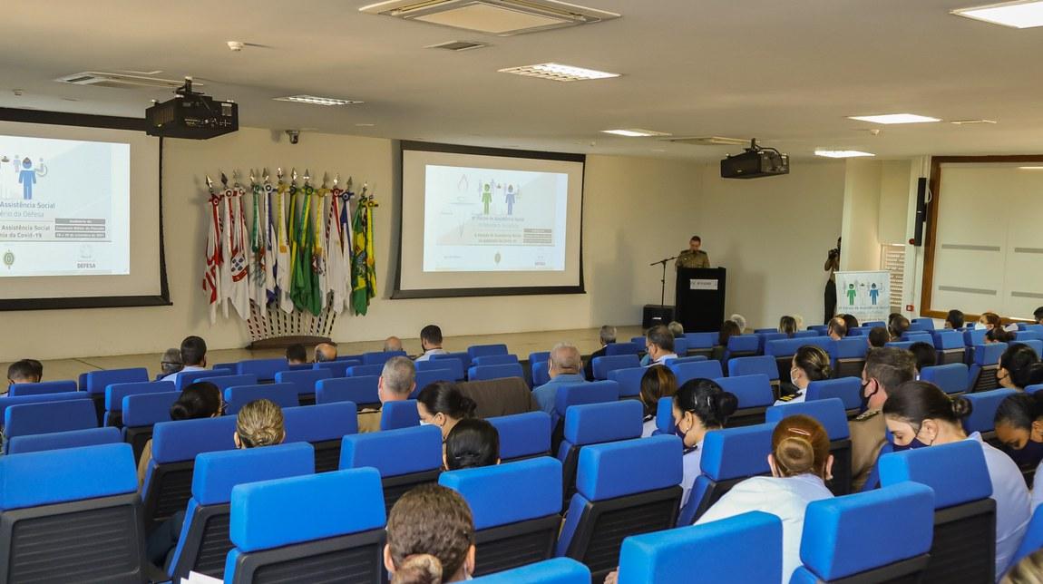 8º Fórum de Assistência Social destaca atuação das Forças Armadas no combate à pandemia