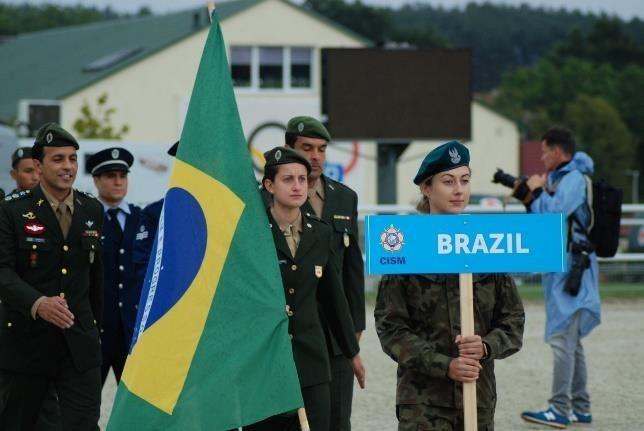Brasil fica com prata e bronze no Mundial Militar de Pentatlo Moderno