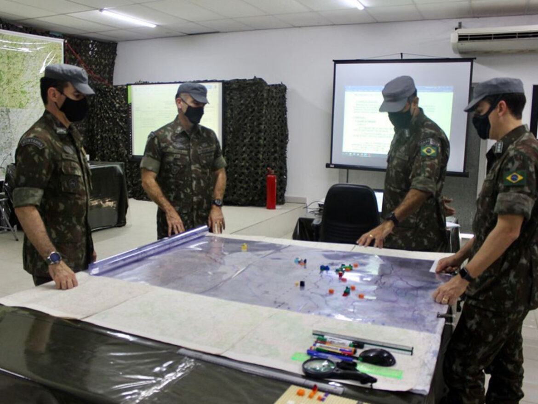 Brigada de Montanha participa de Jogos de Guerra da 1ª Divisão de Exército