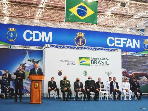 CEFAN sedia cerimônia de imposição da Medalha Mérito Desportivo Militar