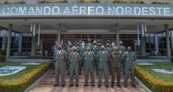 COMAE inicia Reunião de Coordenação de Operações Aeroespaciais no Recife (PE)