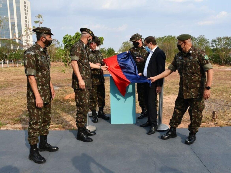 Comandante do Exército inaugura obra militar em Cuiabá
