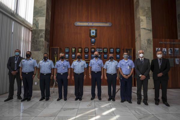 Estados-Maiores das Forças Aéreas do Brasil e do Peru promovem Reunião de Conversações