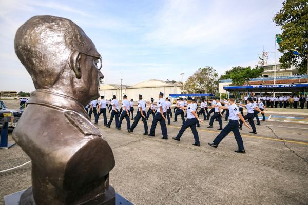 FAB realiza cerimônia militar do 125º aniversário do Marechal do Ar Eduardo Gomes