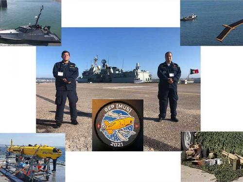 Marinha participa do exercício Robotic Experimentation and Prototyping augmented by Maritime Unmanned Systems
