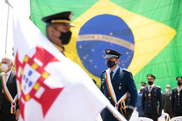 PMDF homenageia militares da FAB com a Medalha Tiradentes