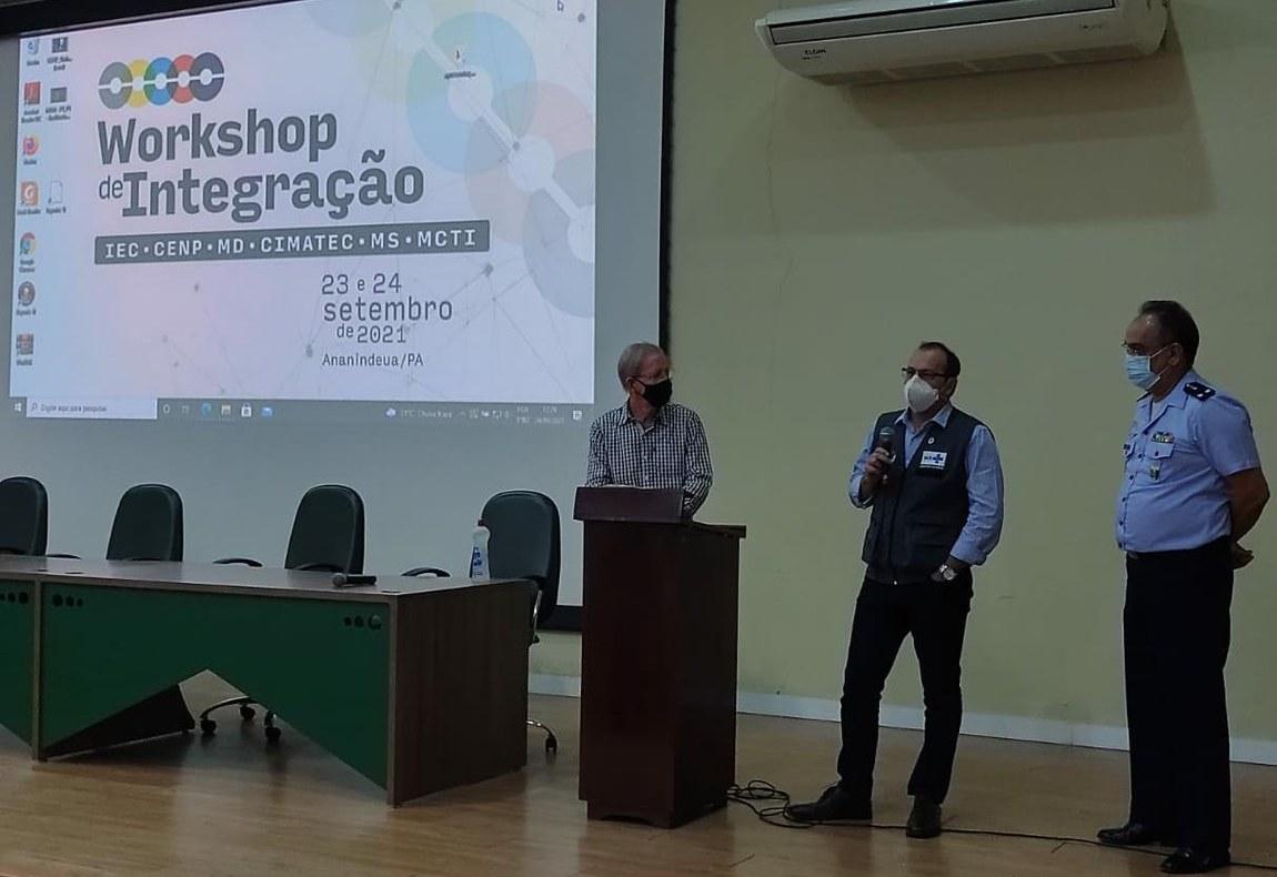 Representantes do Ministério da Defesa participam de Workshop de Integração no Pará