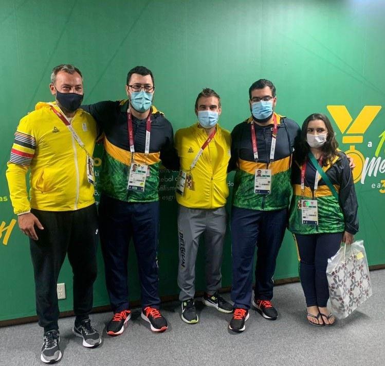 Tenente Médico brasileiro salva a vida de atleta belga nas Paralimpíadas