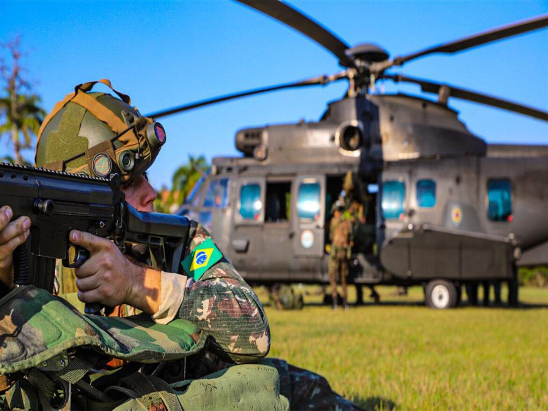Força-Tarefa treina para exercício bilateral com os EUA