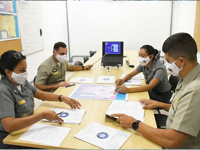 Centro de Operações de Paz de Caráter Naval tem seu segundo Curso Internacional certificado pela ONU