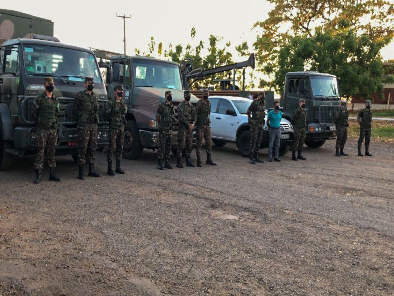Exército Brasileiro inicia operação de perfuração de poços na Paraíba