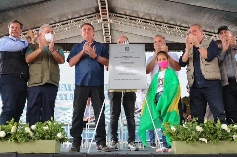 Inaugurada a última etapa da obra física do Eixo Norte do Projeto de Integração do Rio São Francisco